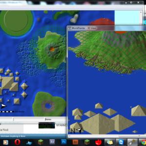 Creció de mapes per a Minecraft amb WorldPainter