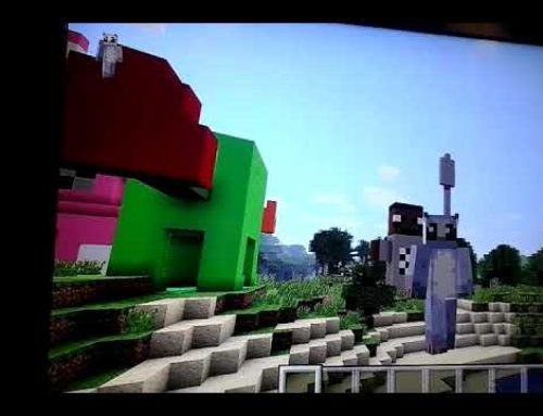 Exercici setmanal amb Minecraft