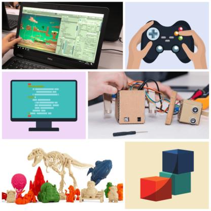 Campus d'estiu 2019 robòtica, videojocs i programació. De 13 a 18 anys