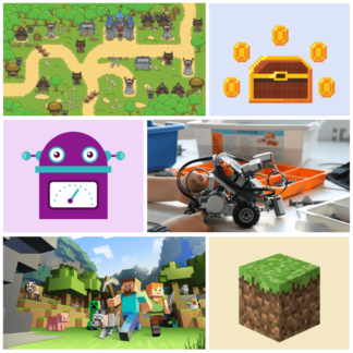 Estiu 2019 robòtica, videojocs i programació. De 8 a 12 anys