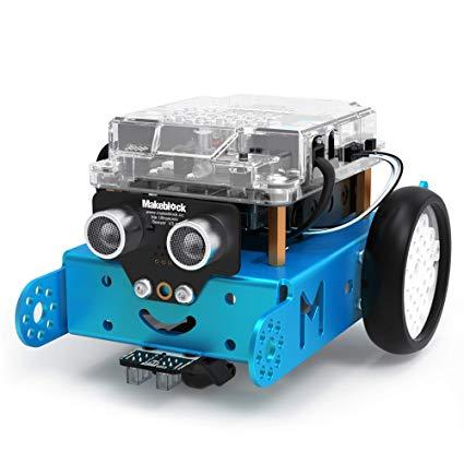 Robot Mbot azul