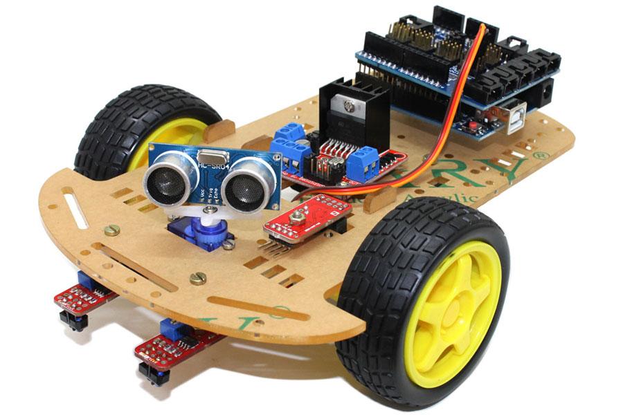 Curs de robòtica avançada amb Arduino