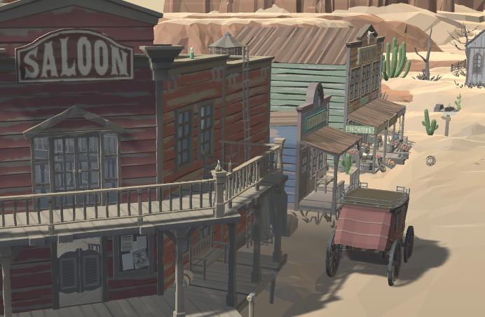 Creació de videojocs amb Unity Far West