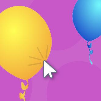 Scratch clicar globos